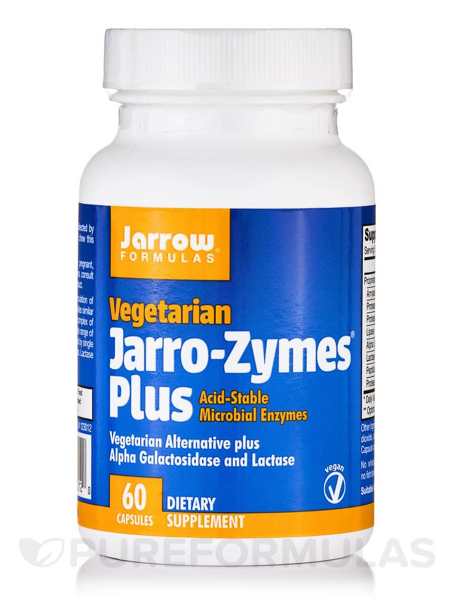 Jarro-Zymes Plus - 60 Vegetarian Capsules