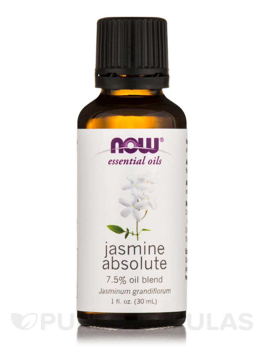 NOW® Essential Oils - Jasmine Absolute Oil - 1 fl. oz (30 ml)