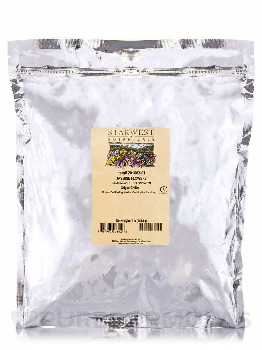Jasmine Flowers - 1 lb (453.6 Grams)