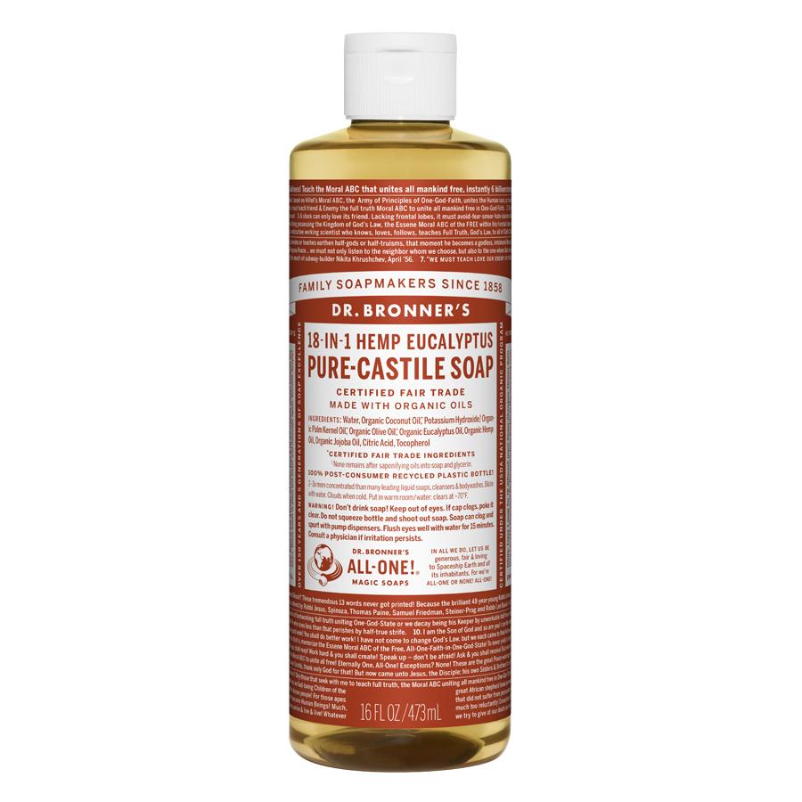 Eucalyptus Oil Pure Castile Liquid Soap - 16 fl. oz (473 ml)