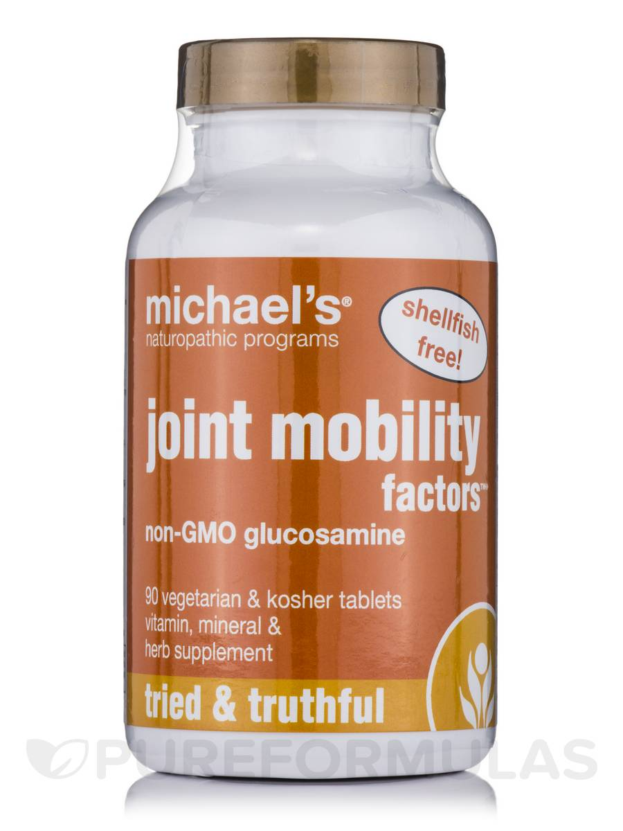 Joint Mobility Factors non GMO Glucosamine - 90 Tablets