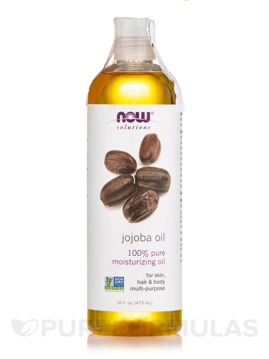 NOW® Solutions - Jojoba Oil (100 % Pure) - 16 fl. oz (473 ml)