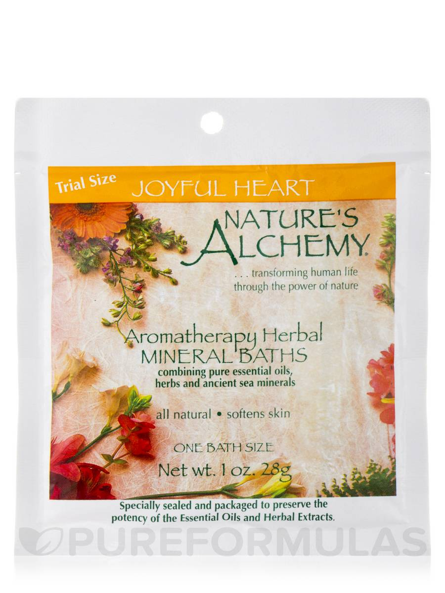 Joyful Heart Aromatherapy Mineral Baths - 1 oz (28 Grams)