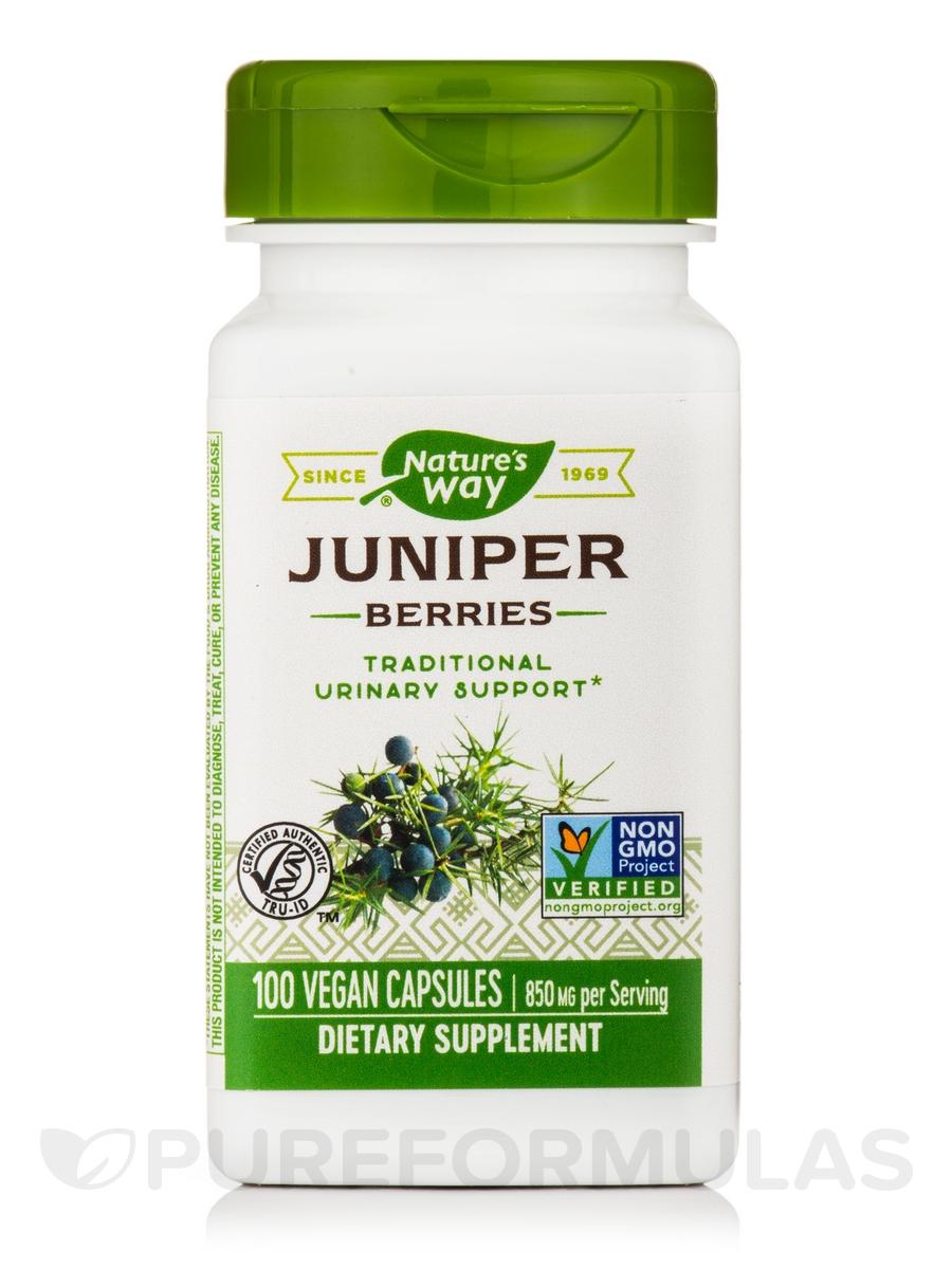 Juniper Berries 425 mg - 100 Capsules
