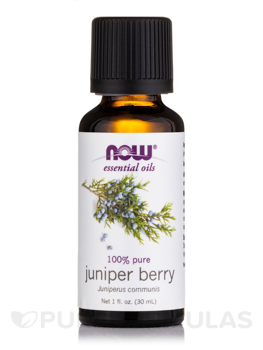 NOW® Essential Oils - Juniper Berry Oil - 1 fl. oz (30 ml)
