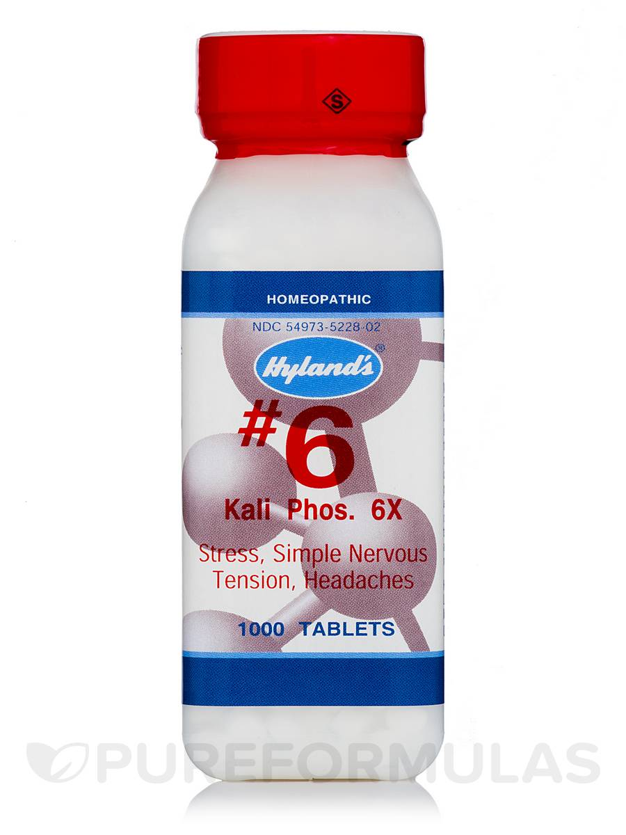 Kali Phosphoricum 6X - 1000 Tablets