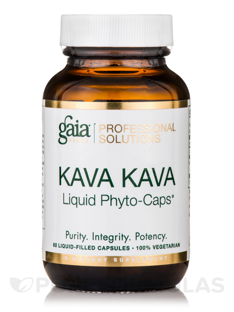 Kava Kava - 60 Vegetarian Liquid-Filled Capsules