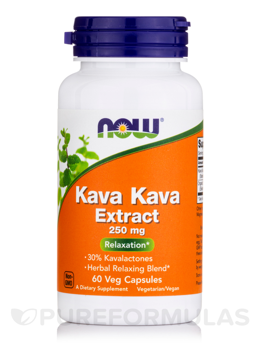 Kava Kava Extract 250 mg - 60 Capsules
