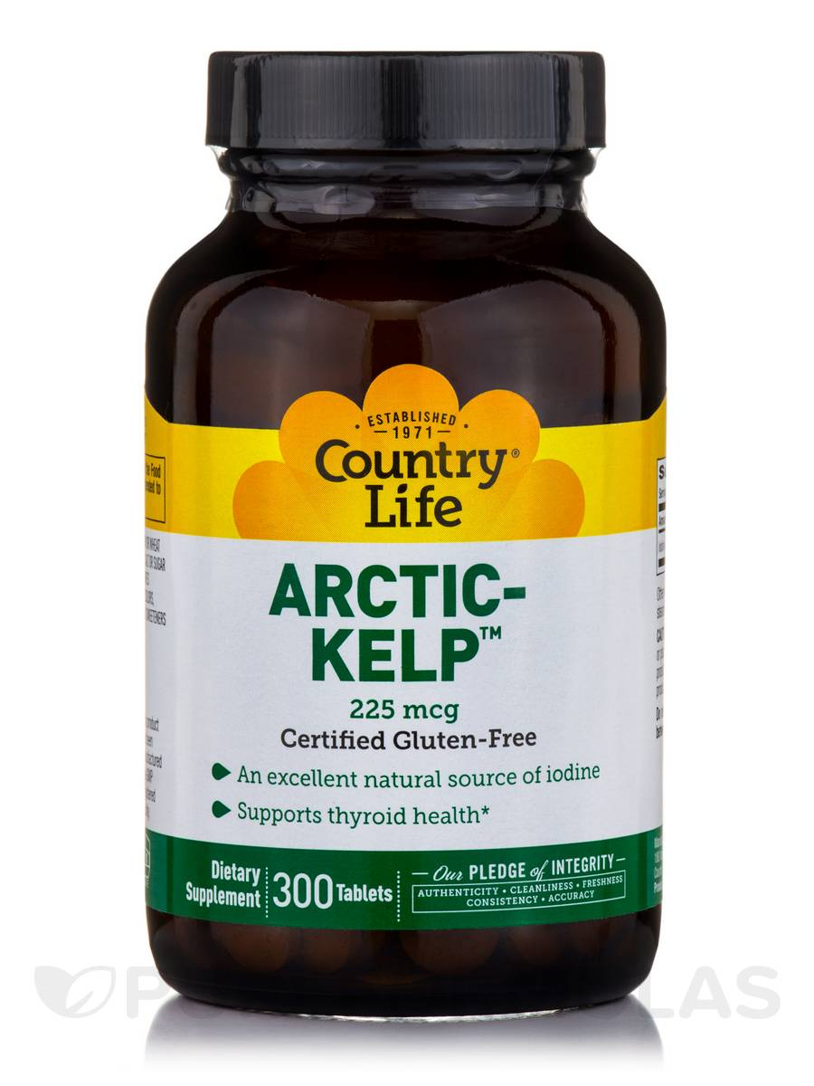 Arctic-Kelp™ 225 mcg - 300 Tablets