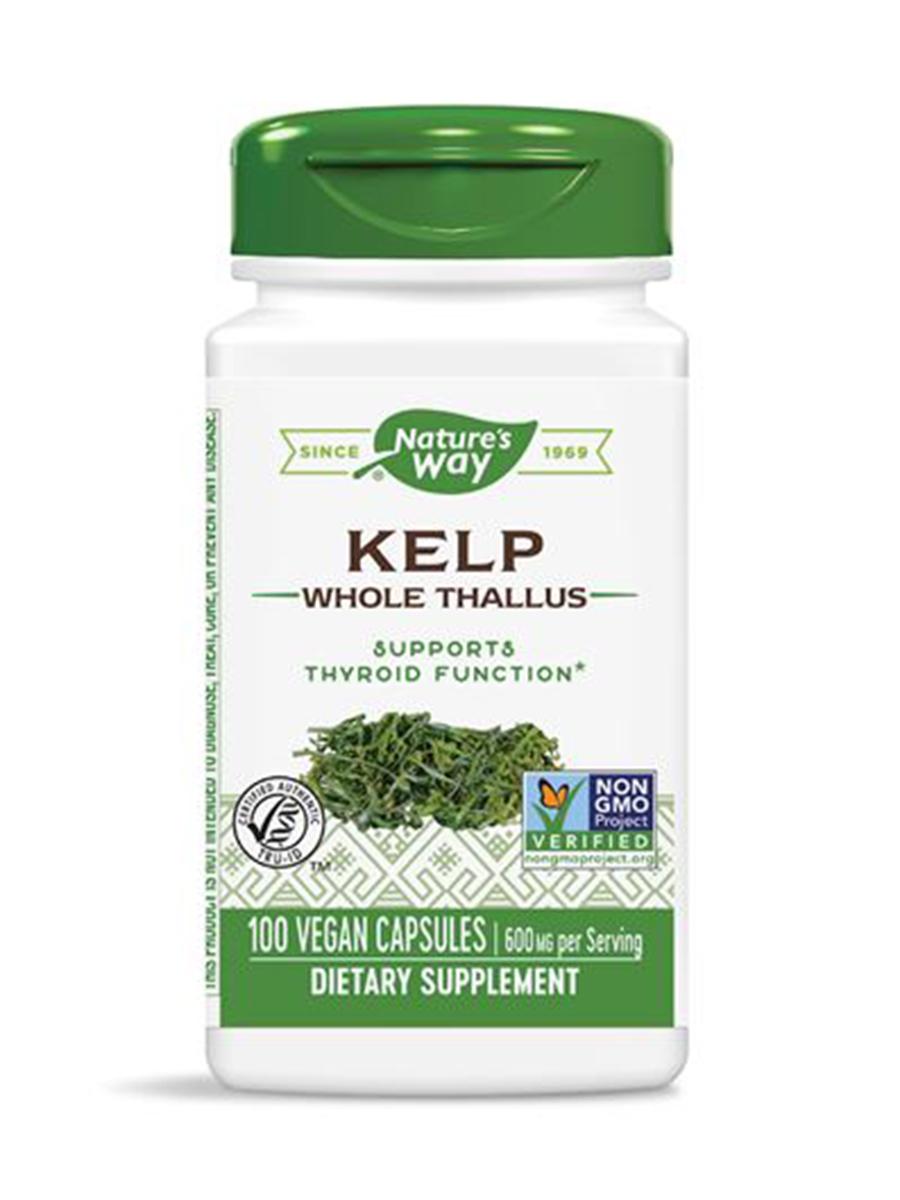 Kelp 600 mg - 100 Capsules