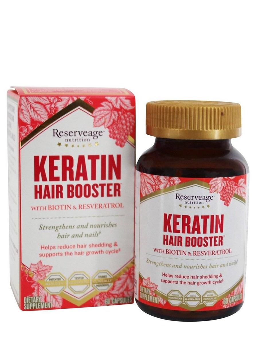 Hair Booster™ with Biotin & Resveratrol - 60 Capsules