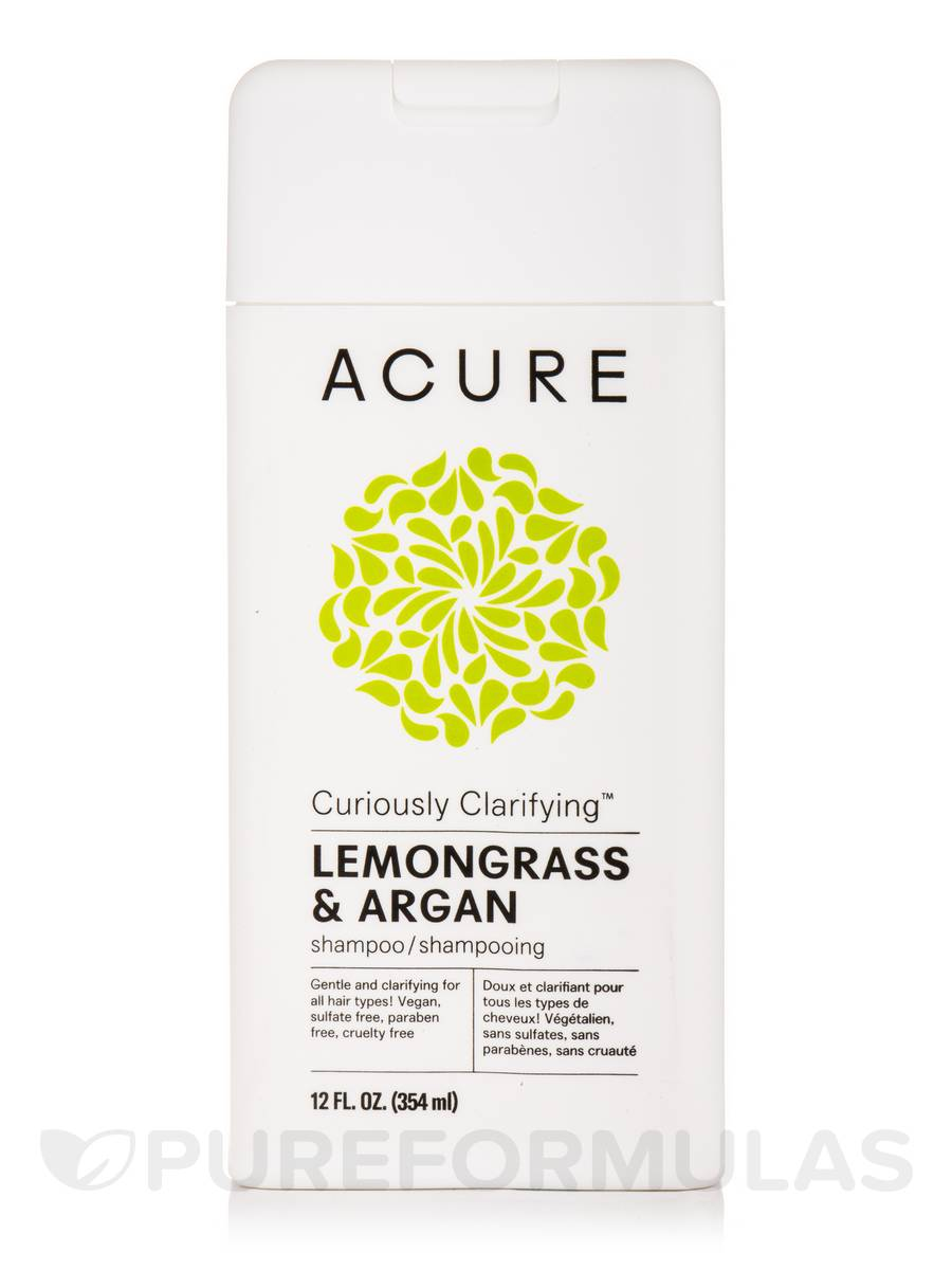 Curiously Clarifying Shampoo, Lemongrass + Argan - 12 fl. oz (354 ml)