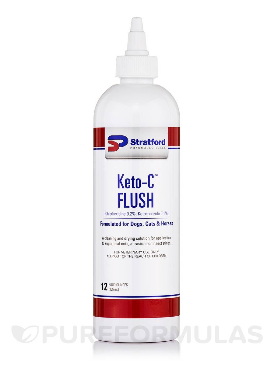 Keto-C™ Ketoconazole 0.2% Chlorhexidine 0.2% Flush - 12 fl. oz (355 ml)