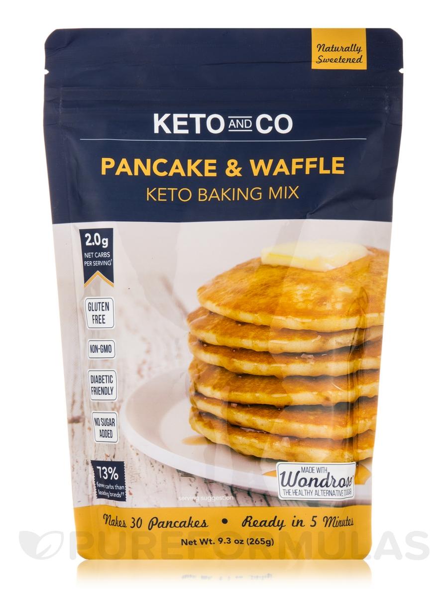Keto Pancake & Waffle Mix - 9.3 oz (265 Grams)