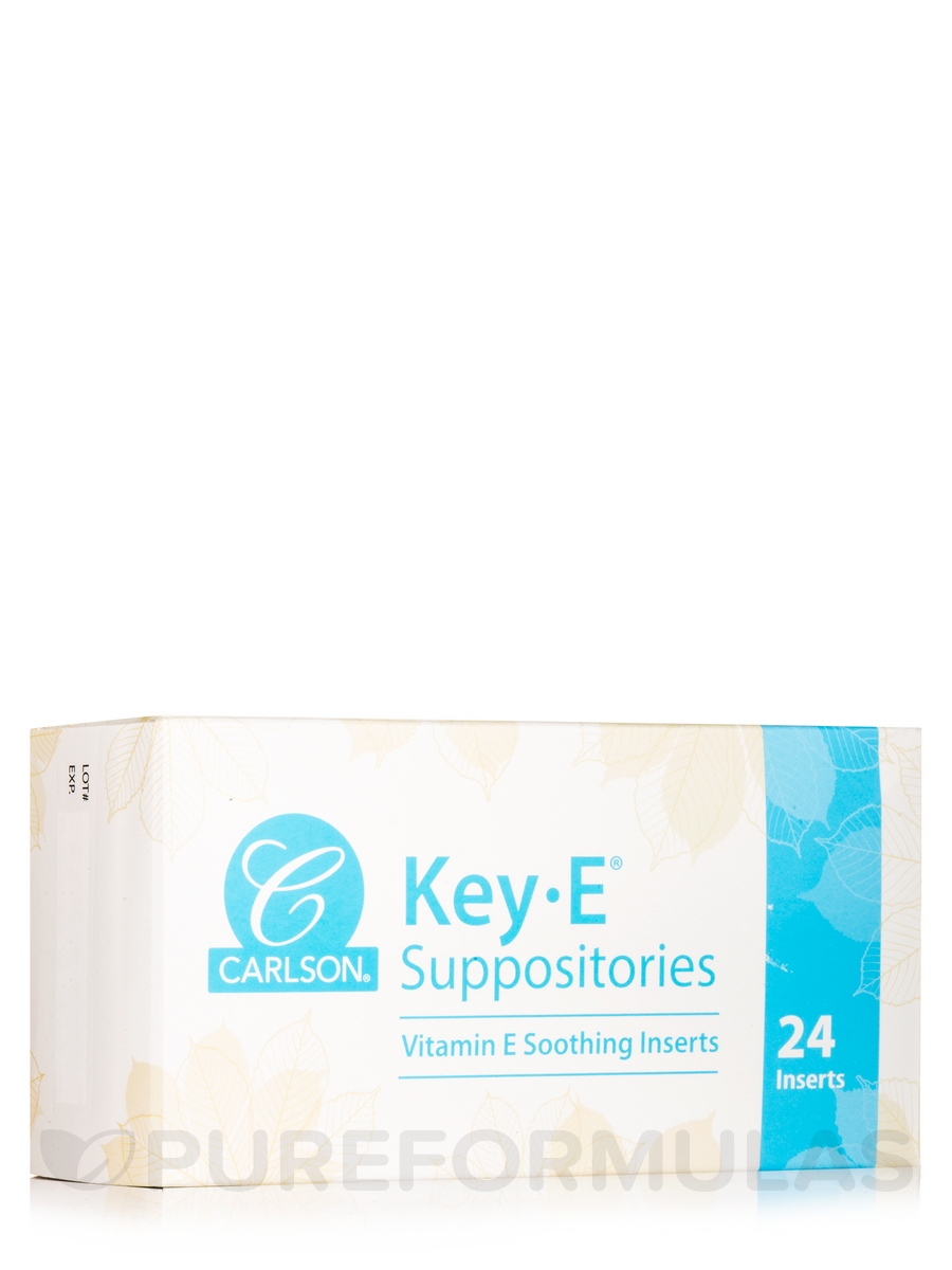 Key-E® Suppositories - 24 Suppositories