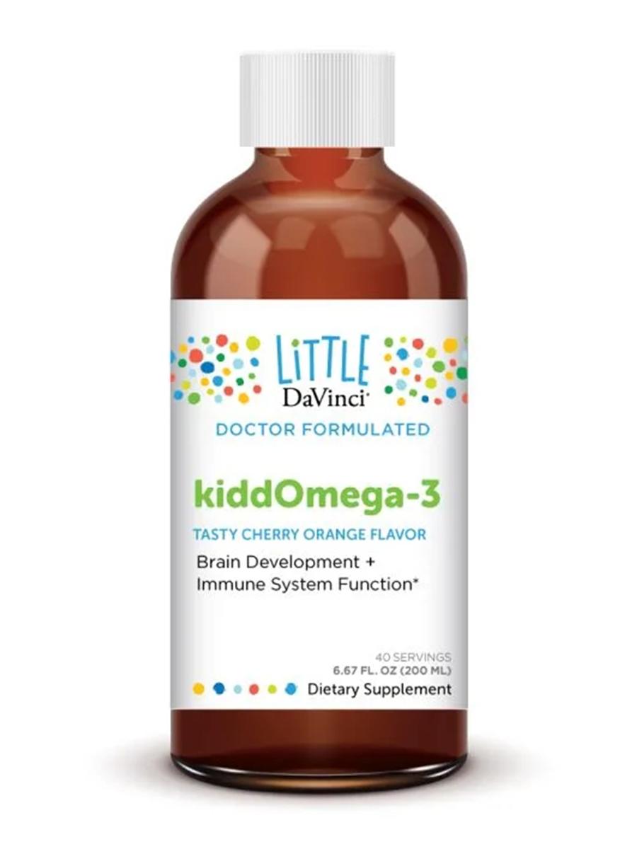 KiddOmega-3, Cherry Orange Flavor - 6.67 fl. oz (200 ml)