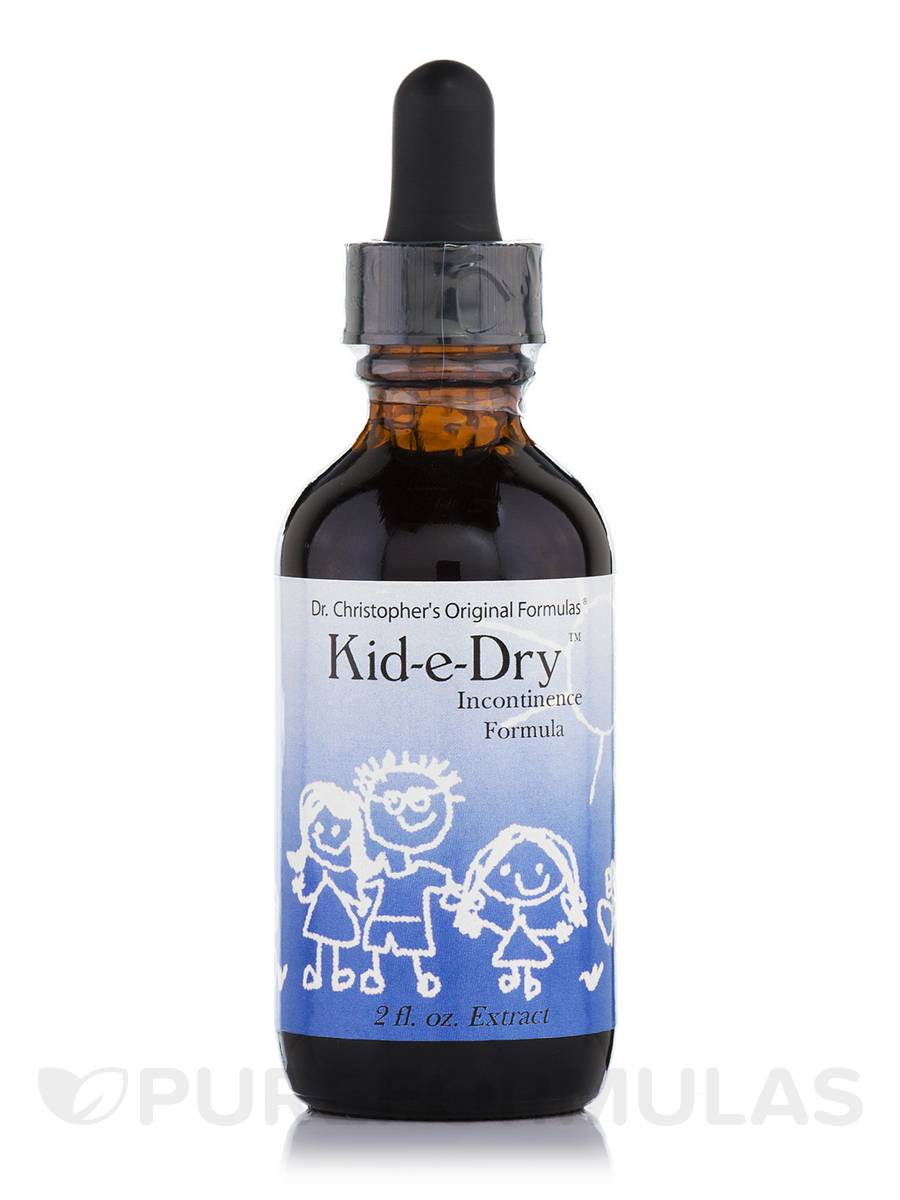 Kid-e-Dry (Incontinence Formula) - 2 fl. oz