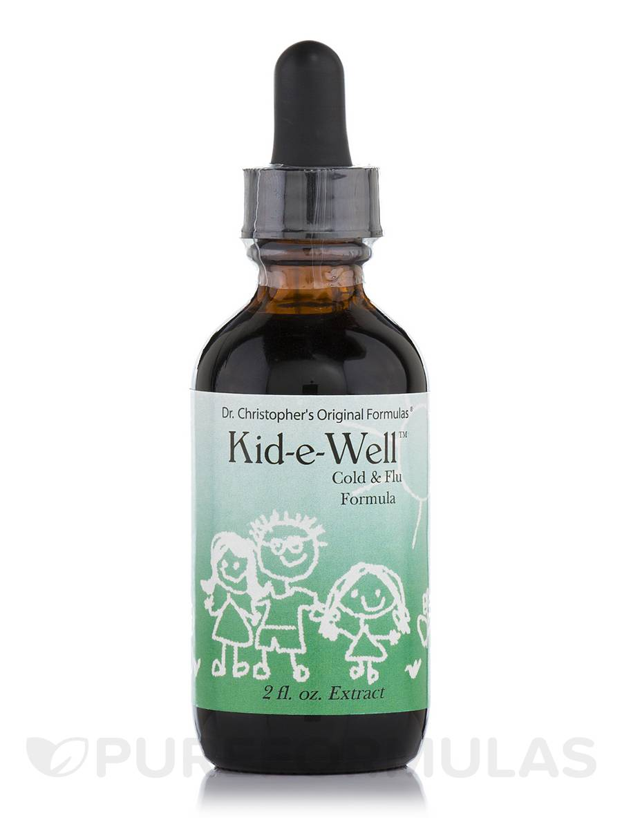 Kid-e-Well (Cold & Flu Formula) - 2 fl. oz