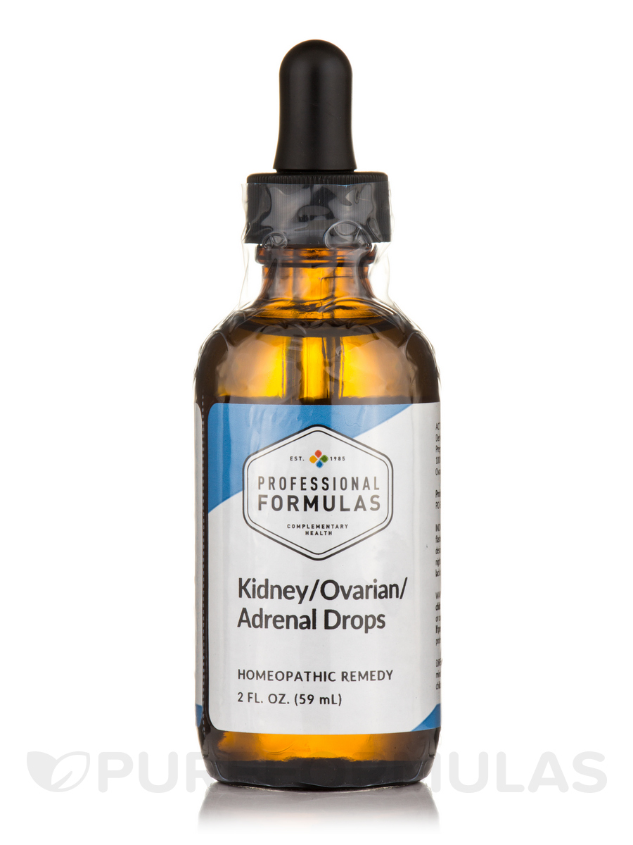 Kidney/Ovarian/Adrenal Drops - 2 fl. oz (59 ml)
