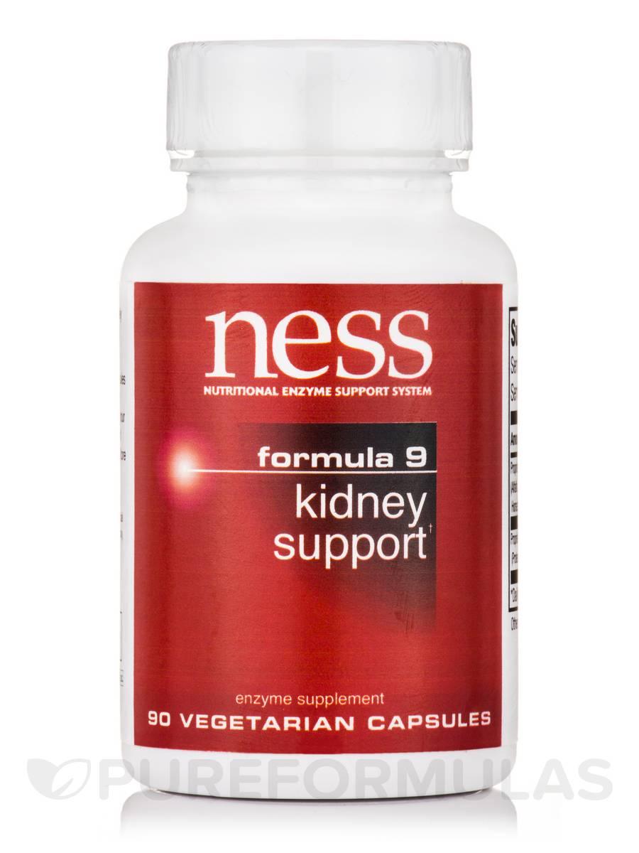 Kidney Support (Formula 9) - 90 Vegetarian Capsules