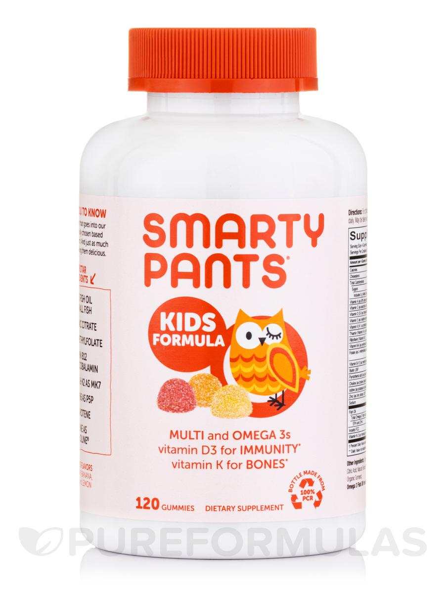 Kids Complete Multivitamin + Omega 3 + Vitamin D (Assorted Flavors) - 120 Gummies
