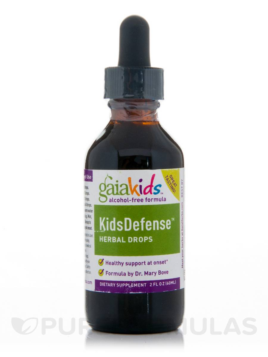 KidsDefense Herbal Drops (Alcohol-Free) - 2 fl. oz (60 ml)
