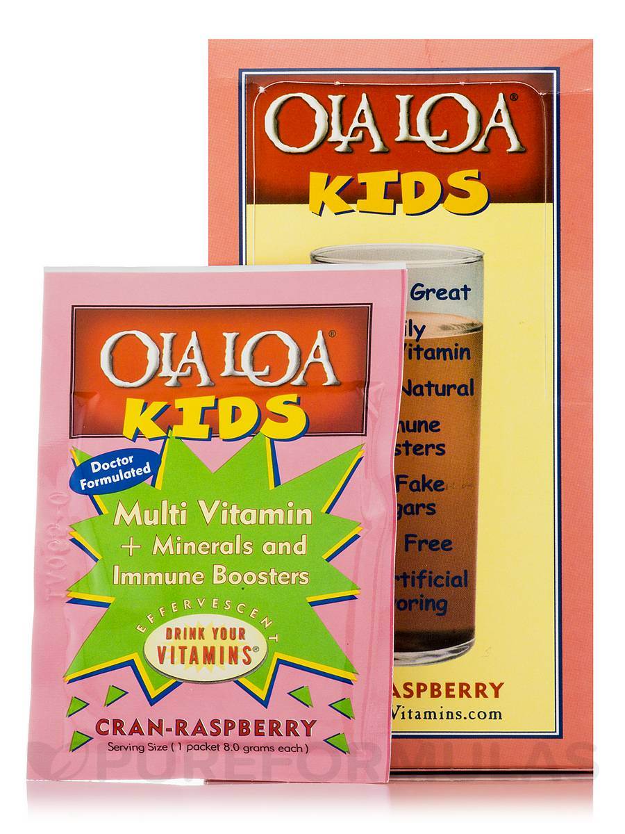 Kids Multi Vitamin Cran-Raspberry - 30 Packets