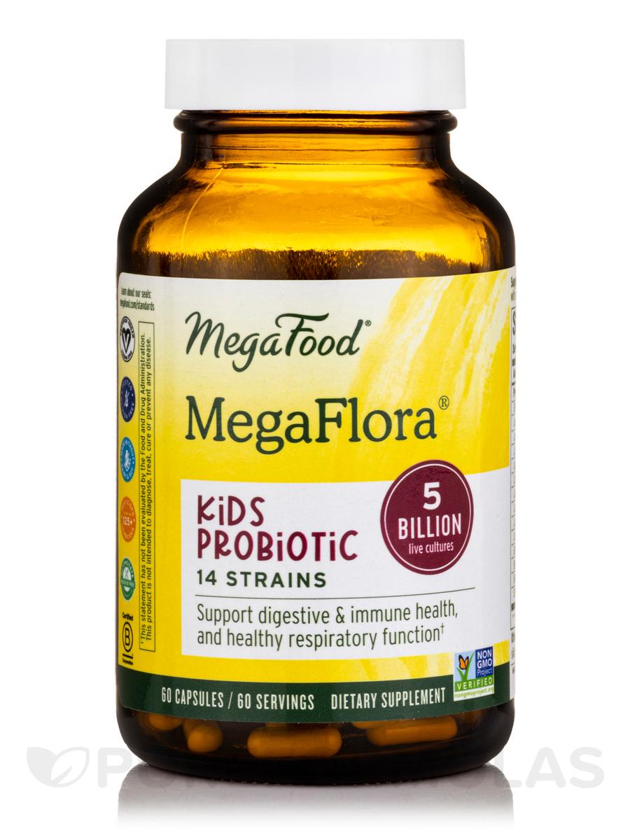 Kids N' Us™ MegaFlora® - 60 Capsules