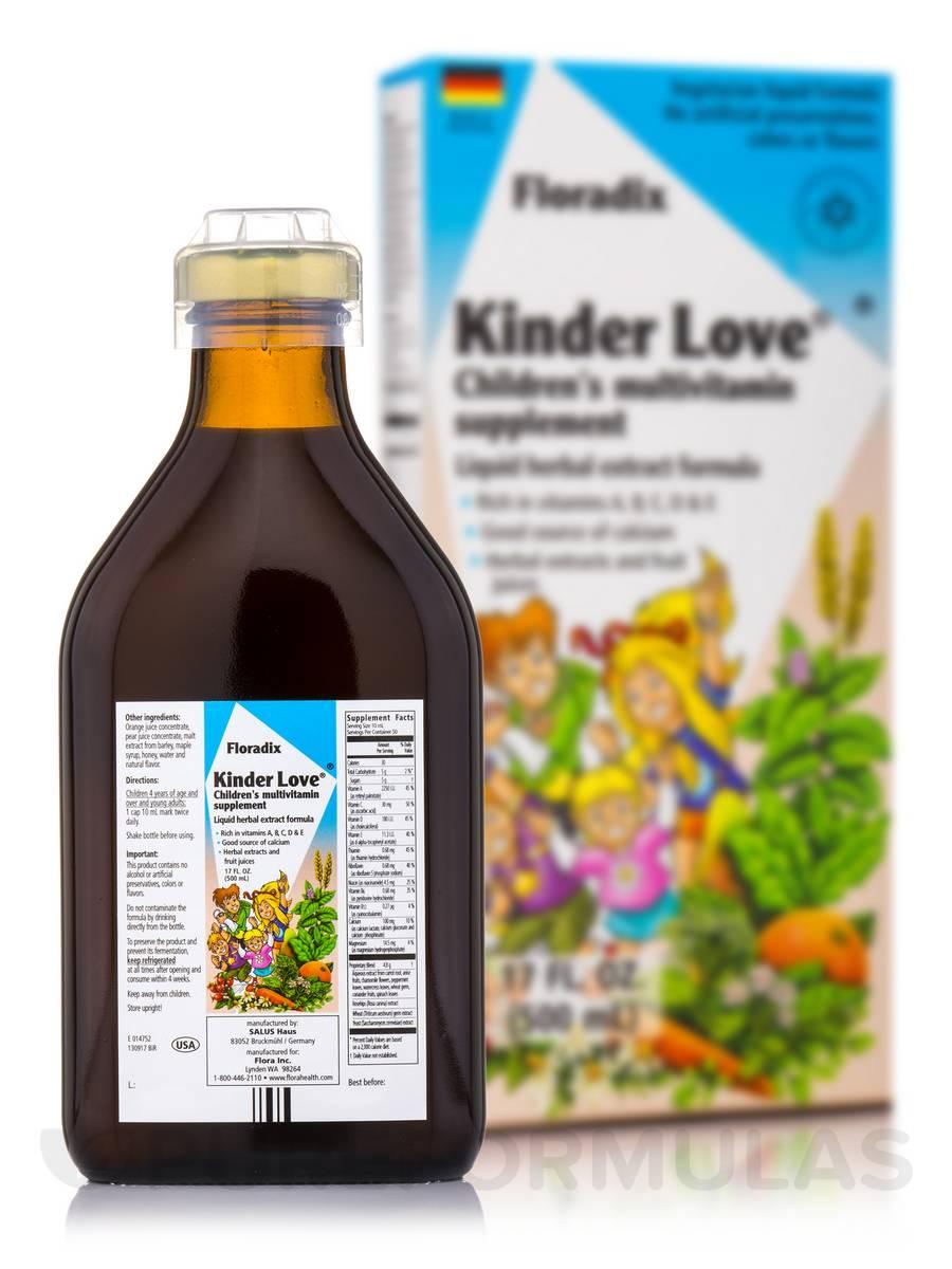 Kinder Love® Children's Multivitamin - 17 fl. oz (500 ml)