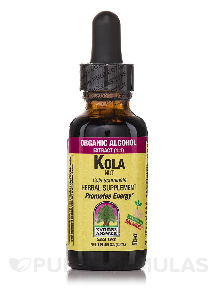 Kola Nut Extract - 1 fl. oz (30 ml)
