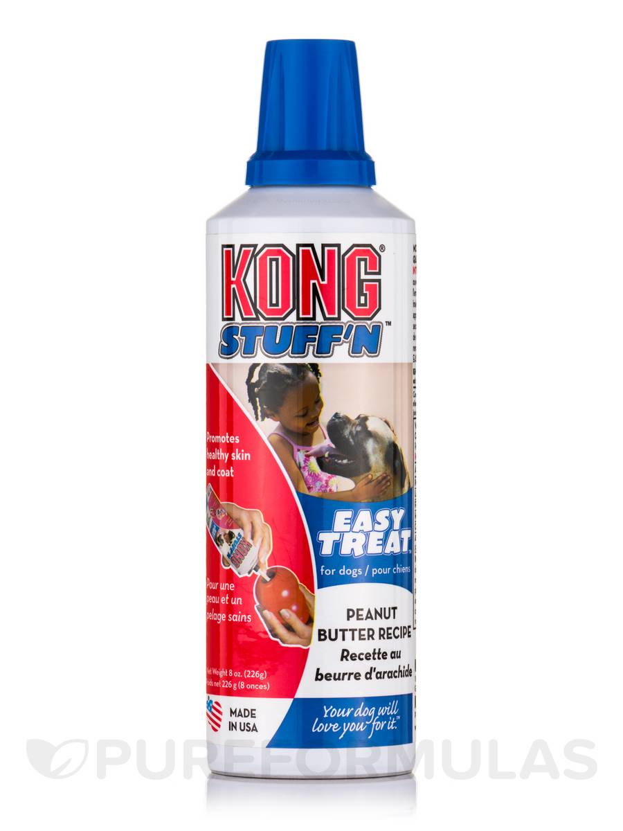 KONG® Easy Treat™ for Dogs, Peanut Butter Recipe - 8 oz (226 Grams)