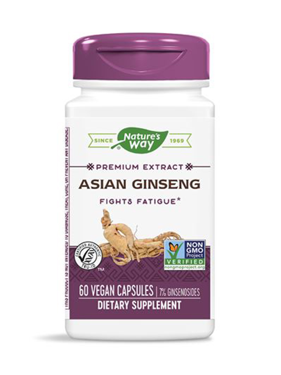Asian Ginseng - 60 Veg Capsules