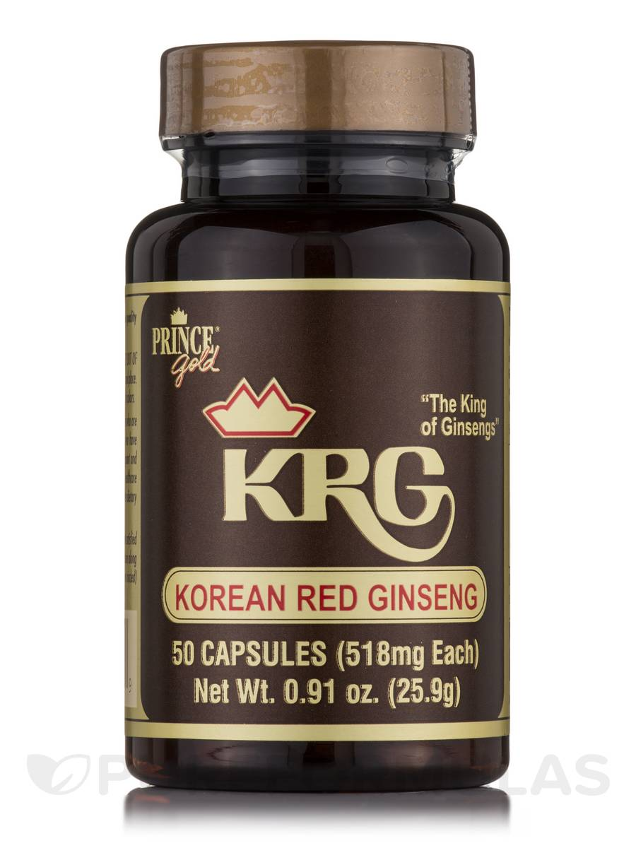 Korean Red Ginseng - 50 Capsules