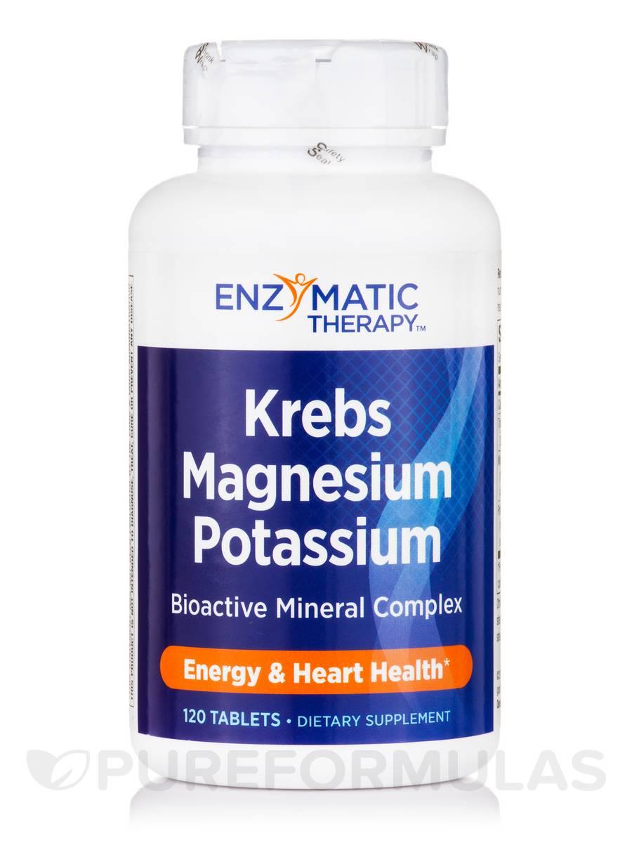 Krebs Magnesium-Potassium - 120 Tablets