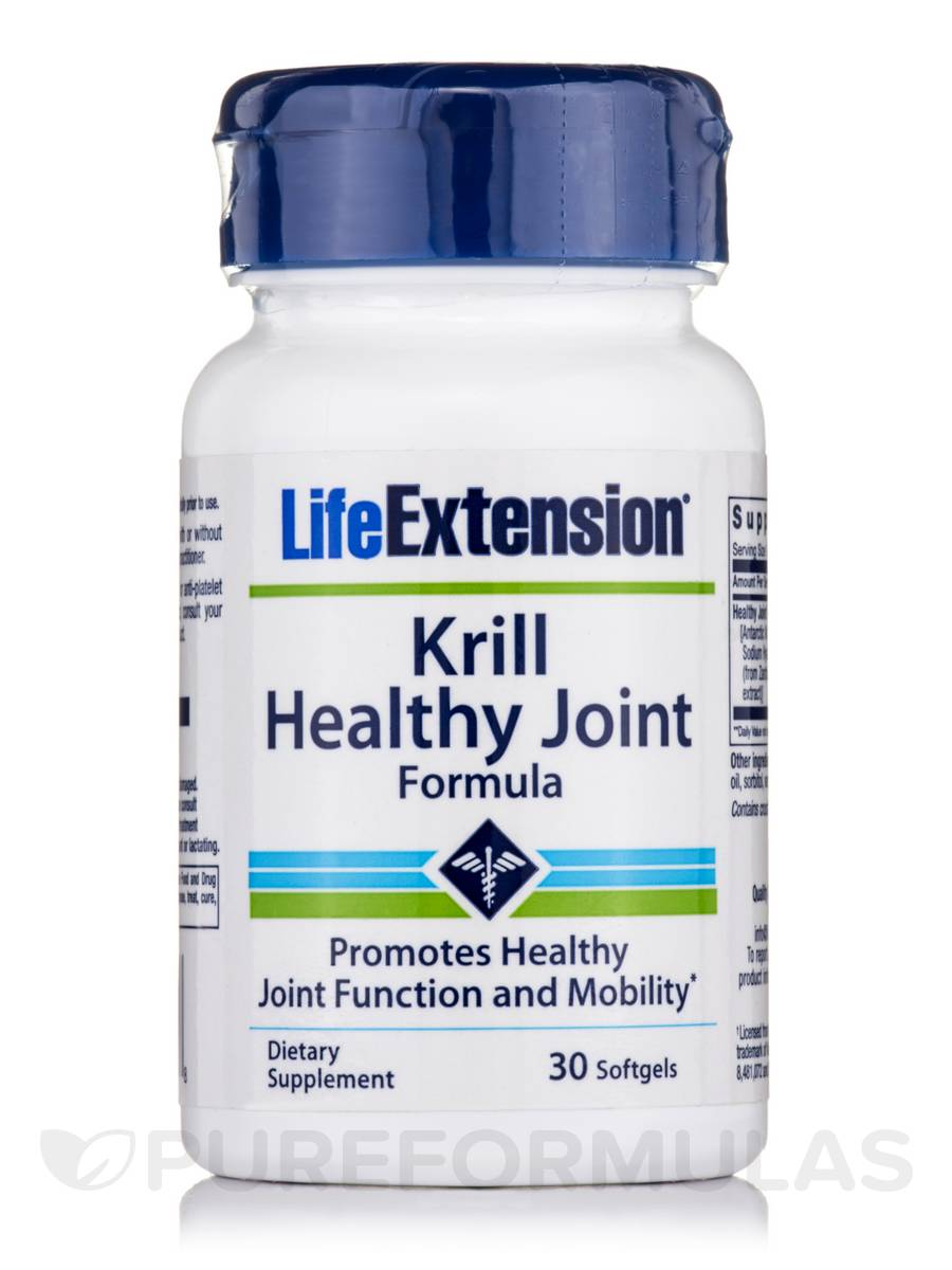 Krill Healthy Joint Formula - 30 Softgels