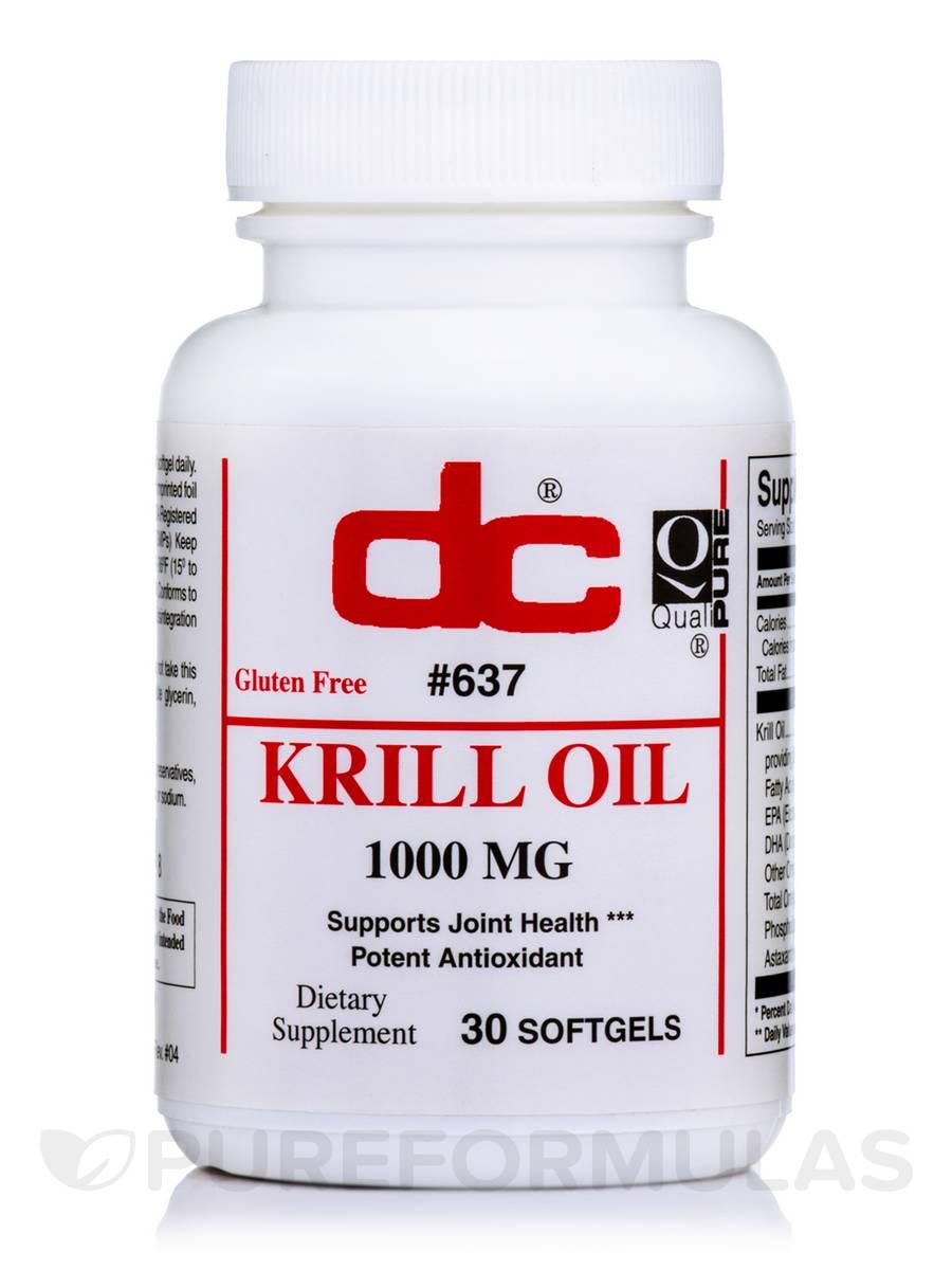 Krill Oil - 30 Softgels