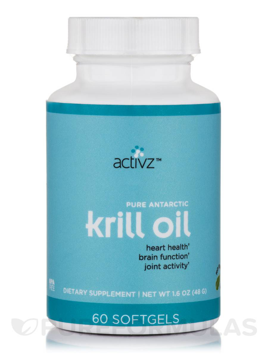 Krill Oil - 60 Softgels (1.06 oz / 30.1 Grams)