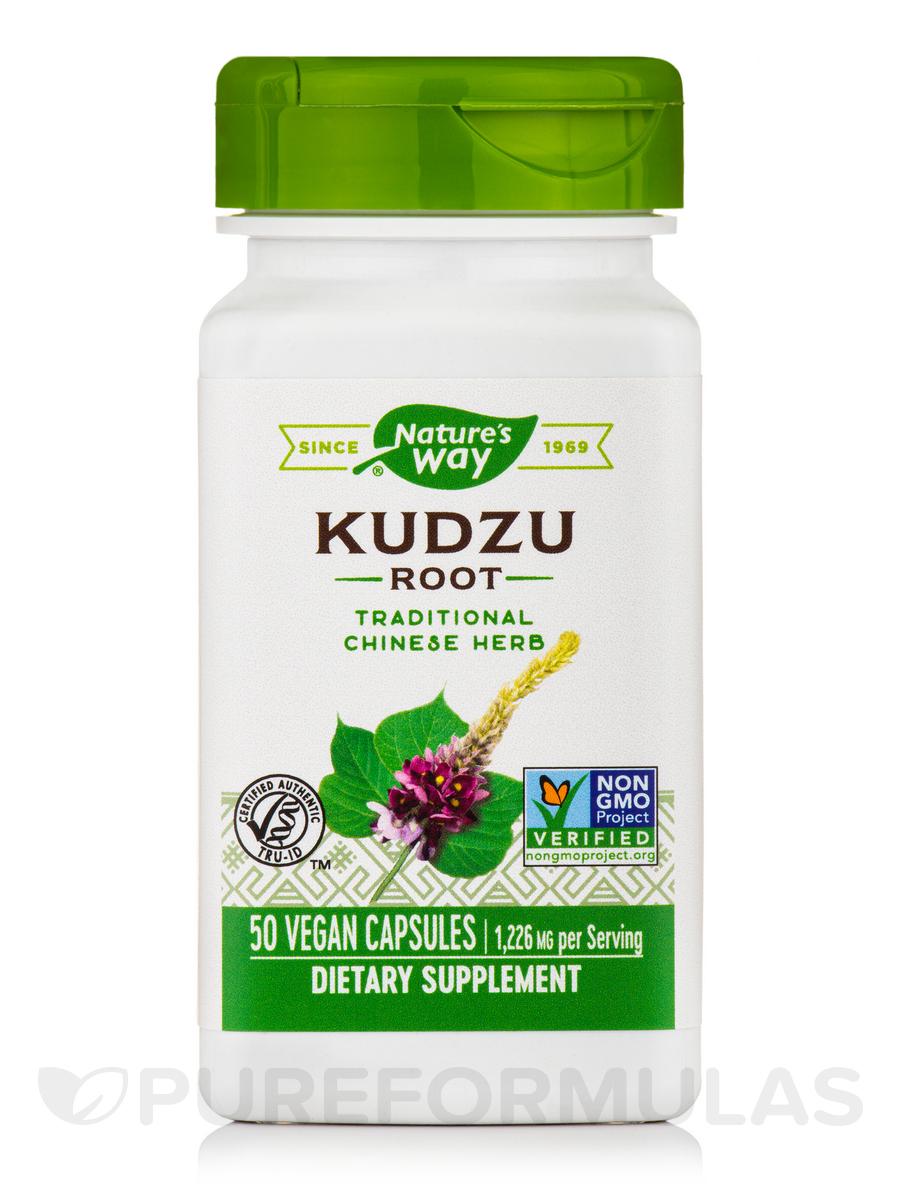 Kudzu Root 613 mg - 50 Capsules