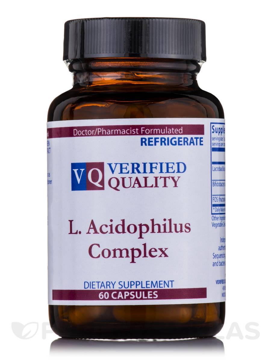 L. Acidophilus Complex - 60 Capsules