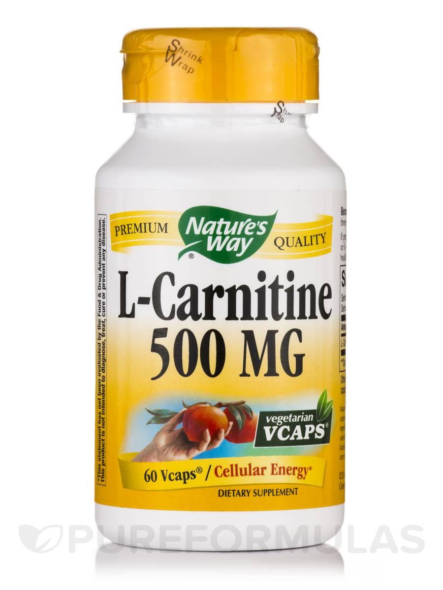 L-Carnitine 500 mg - 60 VCaps