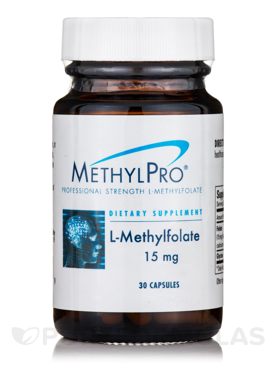 L-Methylfolate 15 mg - 30 Capsules