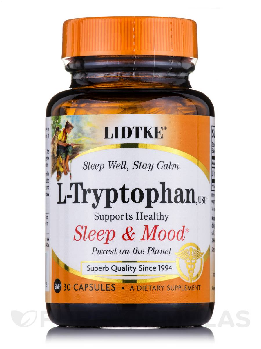 L-Tryptophan 500 mg - 30 Capsules