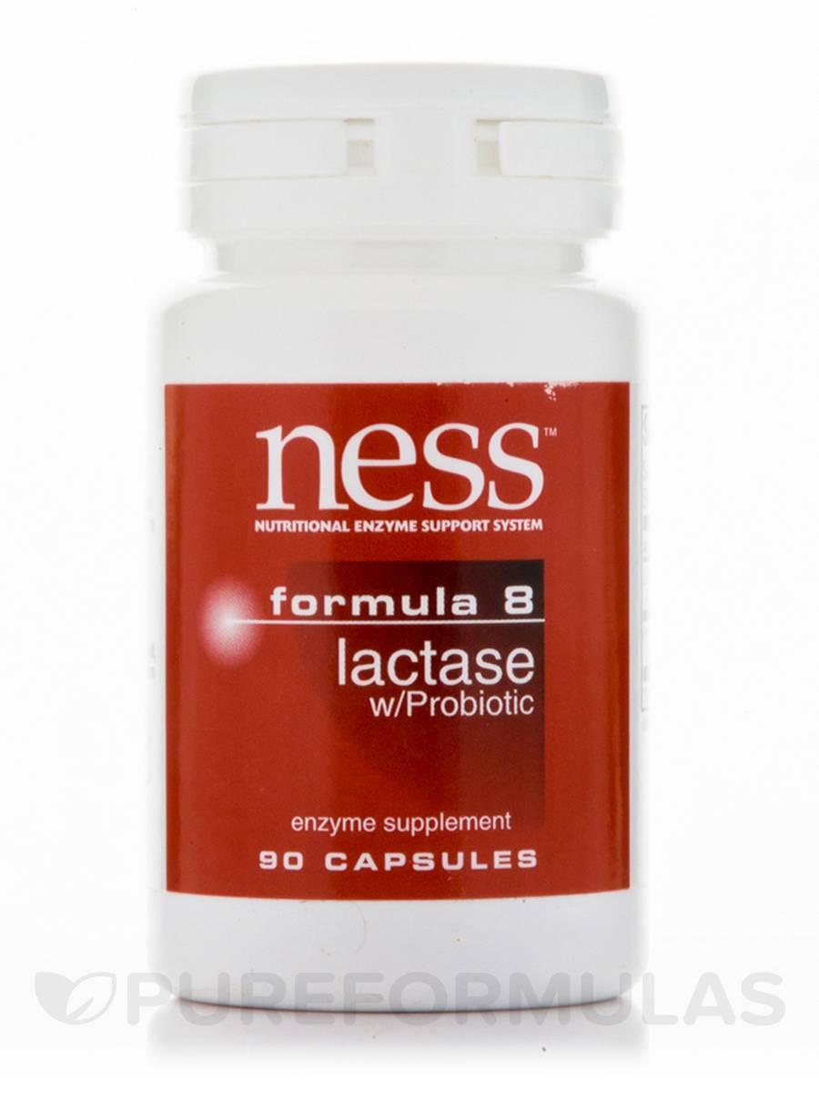 Lactase with Probiotics (Formula 8) - 90 Capsules