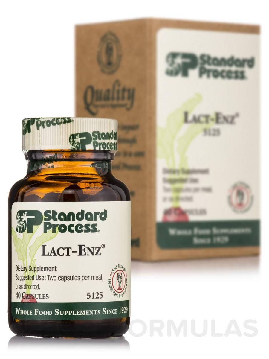 Lact-Enz® - 40 Capsules