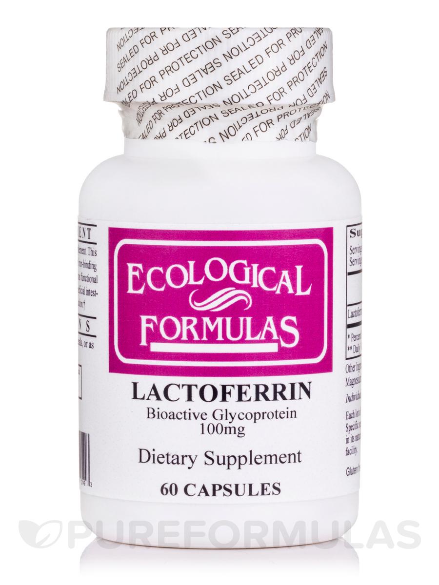 Lactoferrin 100 mg - 60 Capsules