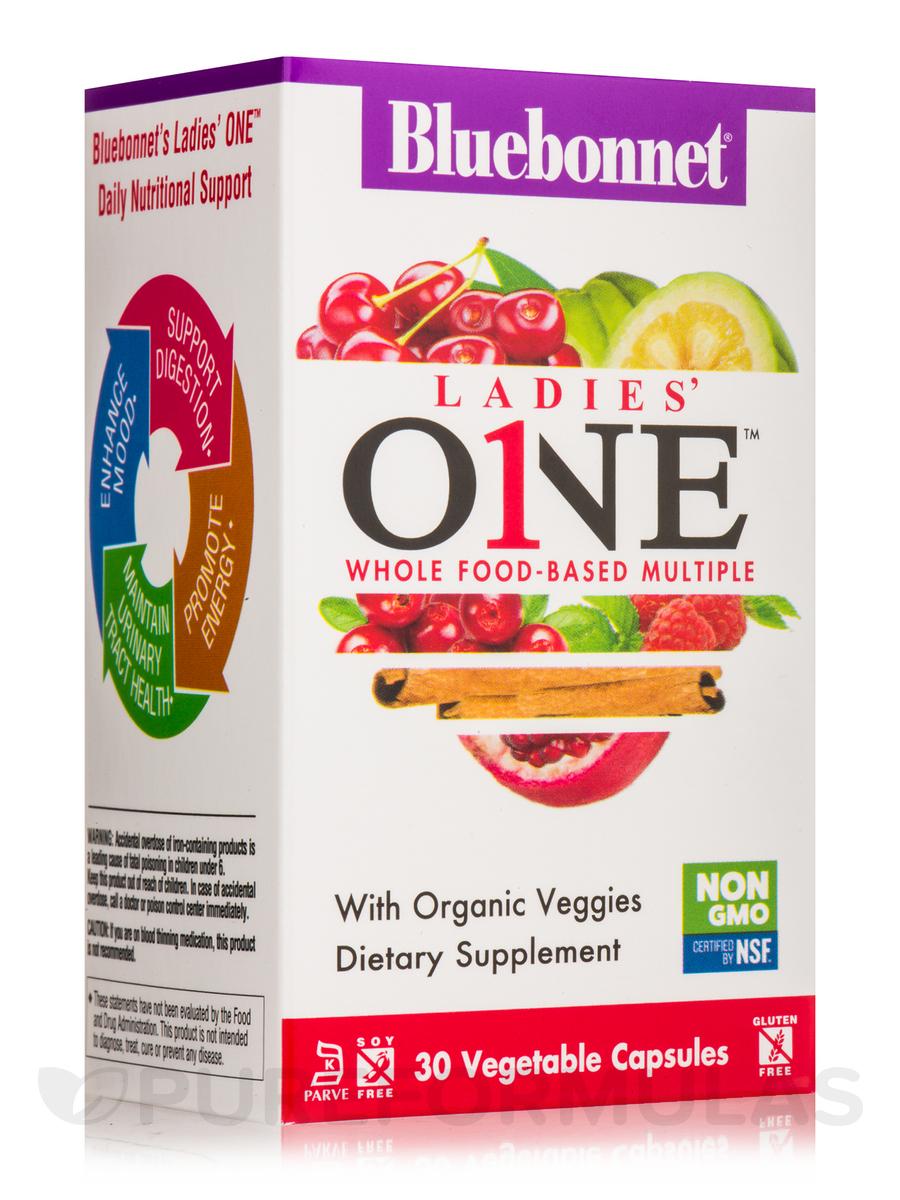 Ladies' ONE™ Whole Food Based Multiple - 30 Vegetable Capsules