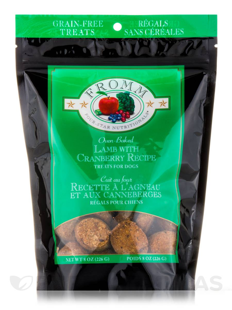 Four-Star Nutritionals® Lamb with Cranberry Dog Treats - 8 oz (226 Grams)