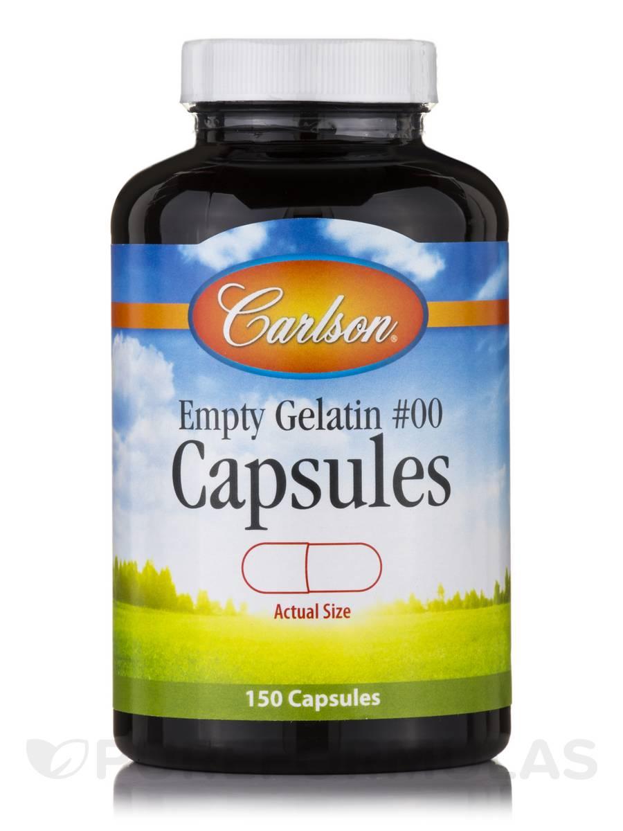 Large #00 - 150 Empty Capsules