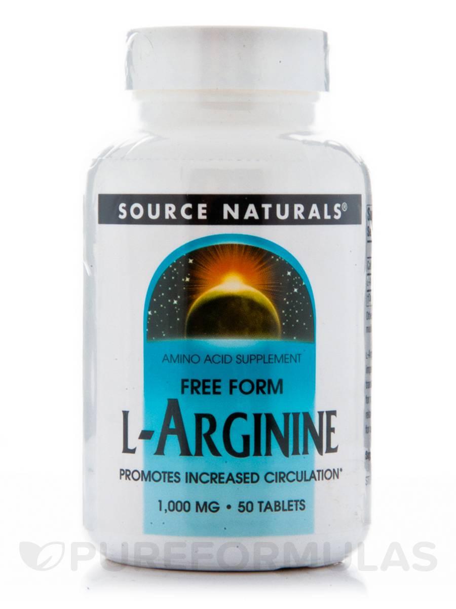 L-Arginine 1000 mg - 50 Tablets