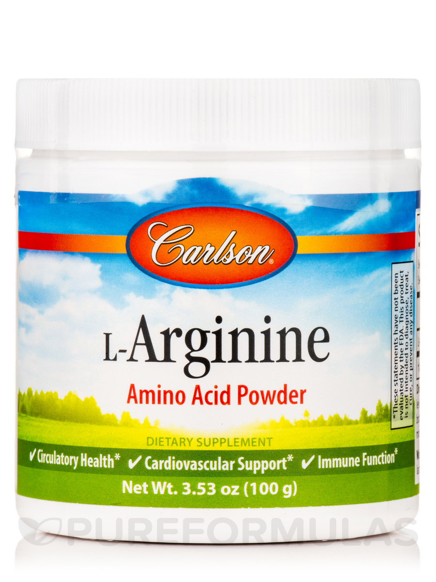 L-Arginine Powder - 3.53 oz (100 Grams)